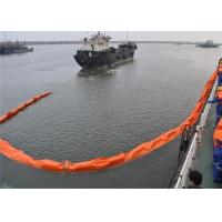 Buy cheap PVC Spill Containment Boom , Floating Oil Boom Working Tensile Strength 20 To 130kN from wholesalers