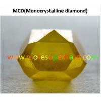 Buy cheap Single Crystal Synthetic Diamond from wholesalers