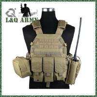 Buy cheap Military Hunting Duty Vest Combat Tactical Carrier Vest & 3 Pouch from wholesalers