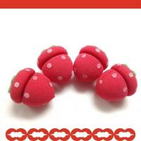 Buy cheap Strawberry Shaped Sponge Hair Roller from wholesalers