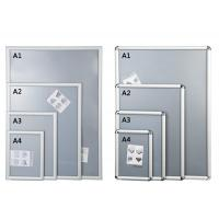 Buy cheap Silver Shining Wall Mounted Snap Lock Frames With One Picture Capacity from wholesalers