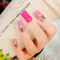 Buy cheap Latest Nail product,3D Nail Sticker,Fashion Crystal 3D Nail Art from wholesalers