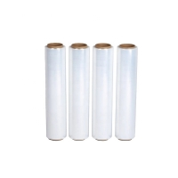 Buy cheap Top Grade Material Soft Hardness Clear Pallet LDPE Stretch Film product