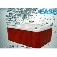 Buy cheap European style portable acrylic shell massage outdoor backyard hot tub thermostat spa from wholesalers