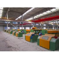 Buy cheap 5.0mm - 12.0mm Welding Wire Forming Machine , Ribbed Steel Wire Wire Processing Machine from wholesalers