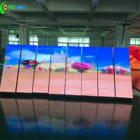 Buy cheap Internal P2 P3 Large LED Video Screens Front Access Fulll Color With Magnet from wholesalers