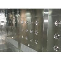 Buy cheap Customized Air Shower Tunnel With Automatic Sliding Door And PLC Control System from wholesalers