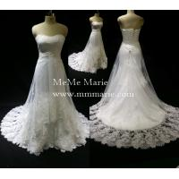 Buy cheap Bridal Gown Lace Fabric Open Back Sweetheart Kleinfeld Wedding Dresses Design BYB-14502 from wholesalers