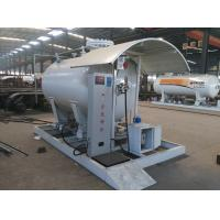 Buy cheap 5tons skid lpg gas filling stationwith digital weighting scale for sale, hot sale 12,000L skid mounted propane gas plant from wholesalers