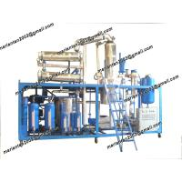 Buy cheap DIR Used Synthetical Oil  Regeneration system(Vacuum Distillation Equipment) from wholesalers