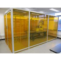 Buy cheap Adjustable Speed Softwall Clean Room , Filter Cleaning Booth Suspended Or Floor Standing from wholesalers