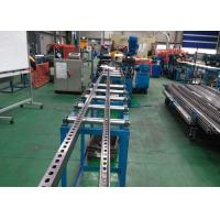 Buy cheap C Slotted Strut Channel Roll Forming Equipment Speed 10 m/Min With Serration product