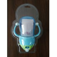 Buy cheap Customerized clear PET / PVC / APET / GAG / APEG  blister clamshell packaging with hanging holes for 280ml baby's bottle from wholesalers