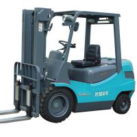 Buy cheap Explosion Proof 3000mm Lift 48V 400Ah Hydraulic Forklift from wholesalers
