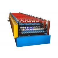 Buy cheap Glazing Steel Double Layer Roll Forming Machine 26 Rollers 380V 50Hz Low Noise product