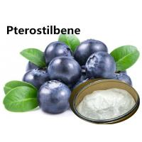 Buy cheap Natural Blueberry Extract 99% Pterostilbene CAS: 537-42-8 For Anti-oxidation from wholesalers