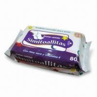 Buy cheap Baby Wipes, Made of Spunlace and Non-wovens product
