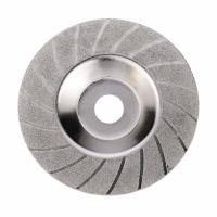 Buy cheap 100mm 4 Inch Diamond Coated Grinding Polishing Grind Disc Saw Blade 16mm Inner Diameter Rotary Wheel from wholesalers
