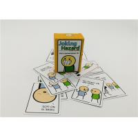 Buy cheap Easy Level Joking Hazard Cards , Custom Design Playing Cards 100pcs from wholesalers