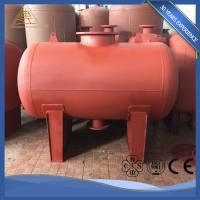Buy cheap Welded Carbon / Stainless Steel Potable Water Storage Tanks Industrial Insulated from wholesalers