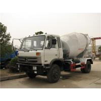 Buy cheap 4M3 Dongfeng Concrete Mixer Truck 3 - 7cubic Cement With Opitional Colors from wholesalers