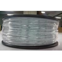 Buy cheap Light Gray 3D Printer ABS Filament Roll , 1.75mm Extruding Plastic Filament from wholesalers