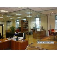 Buy cheap Sheets Of Toughened Modular Office Partitions With Safe, Frosted , Glass Wall from wholesalers