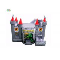 Buy cheap 0.55mm Material PVC Adult Size Bounce House With Blower Maintenance Kit from wholesalers