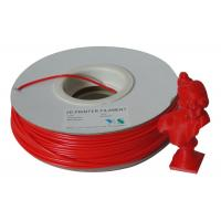 Buy cheap Compatible 3.0mm ABS 3D Printer Filament Materials For 3D Printers , Red product