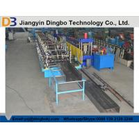 Buy cheap GCr15 Bearing Steel Cable Tray Roll Forming Machine With Hydraulic Cutting System from wholesalers
