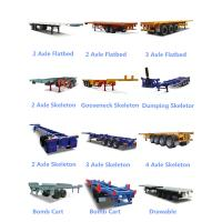 Buy cheap flatbed semi trailer from wholesalers
