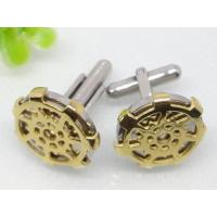 Buy cheap Customized Golden Anchor Stainless Steel Cuff Links 1620041 from wholesalers