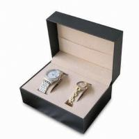 Buy cheap Plastic Watch Box for woment and men watch product