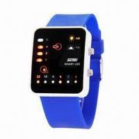 Buy cheap Promotional Digital Wristwatch in Fashionable Design, Waterproof, Ideal for Promotional Gift from wholesalers