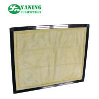 Buy cheap Medium Efficiency Panel Pocket Air Filter , F8 Bag Filter For Clean Equipment from wholesalers