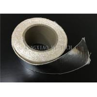 Buy cheap High Temperature Resistant Fireproof High Silica Fabric Tape Aluminum Foil Coated from wholesalers