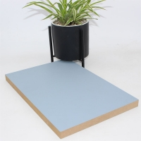 Buy cheap 1220x2440x18Mm Melamine PET Laminated MDF Panels from wholesalers