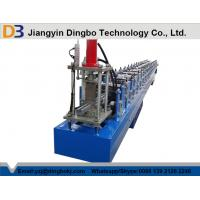 Buy cheap 13 Rollers Stations Guide Rails Shutter Door Roll Forming Machine With Panasonic PLC Control from wholesalers