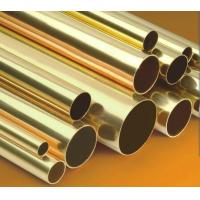 Buy cheap Small Brass Tubing ASTM B111 , seamless copper pipe BS2871 from wholesalers