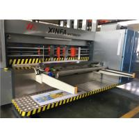 Buy cheap Flexible Movement Flexo Printer Slotter Machine With Full Computer Control from wholesalers
