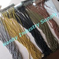 Buy cheap Sparking 6mm Ball Bead Hanging Metal Chain Curtain from wholesalers