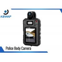Buy cheap 1080P Security Body Camera Recorder , Body Worn Police Pocket Video Camera 64GB from wholesalers
