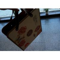Buy cheap Hard Personalized Paper Gift Bags UV Color Printing With Cortex Handheld Belt from wholesalers