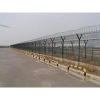 Buy cheap Pvc Coated Airport Security Fence , Steel Barbed Wire FenceEasily Assembled from wholesalers