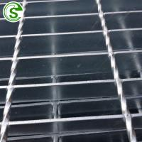 Buy cheap Customized standard steel grating weight galvanized plain twist bar grating from wholesalers