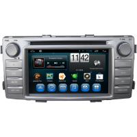Buy cheap Steering Wheel Control Toyota Dvd Player For Toyota Hilux 2012 Gps dvd players with Dvr from wholesalers