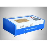 Buy cheap 50w / 40w CO2 Laser Engraver / Mini Laser Rubber Stamp Engraving Machine from wholesalers