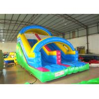 Buy cheap Attractive Arch Water Jump House , Outdoor Games Inflatable Garden Water Slide from wholesalers