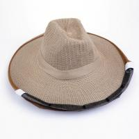 Buy cheap Cowboy Style Brown Color Bee Hats for Beekeepers of Free Size from wholesalers