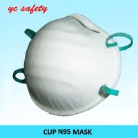 Buy cheap Dental Moulded Conical Nose N95 Dust mask Disposable respiratory N95 from wholesalers